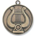 Music Lyre Medal Music/Band Awards