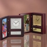 Photo Frame & Clock Picture Frames