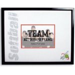 Softball Autograph Frame Picture Frames
