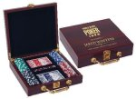 Rosewood Poker Set Poker/Chess/ & Other Game Gifts