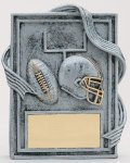 Football Resin Plaque Resin Plaque Awards