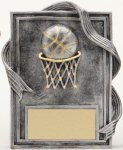 Basketball Resin Plaque Resin Plaque Awards