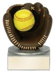 Color Tek Softball Award Resin Trophy Awards