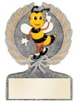 Spelling Bee Multi Color Sport Resin Figure Resin Trophy Awards