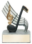 Color Tek Music Award Resin Trophy Awards