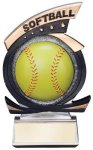 Gold Star Softball Award Resin Trophy Awards