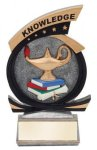 Gold Star Knowledge Award Resin Trophy Awards