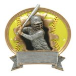 Sport Blaster Legend Softball Resin Trophy Awards