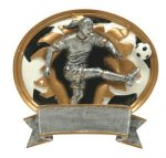 Sport Blaster Legend Soccer Female Resin Trophy Awards