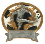 Sport Blaster Legend Soccer Male Resin Trophy Awards