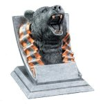Bear Mascot Resin Trophy Awards