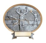 Legend Track & Field Oval Award Resin Trophy Awards