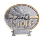 Legend Teamwork Oval Award Resin Trophy Awards