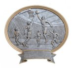 Legend Basketball Oval Award Resin Trophy Awards