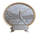 Legend Baseball Oval Award Resin Trophy Awards