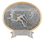 Legend Field Hockey Oval Award Resin Trophy Awards