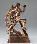Male Track Ultra Action Sports Resin Trophy Resin Trophy Awards