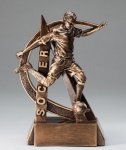 Male Soccer Ultra Action Sports Resin Trophy Resin Trophy Awards