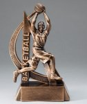 Female Basketball Ultra Action Sports Resin Trophy - Copy Resin Trophy Awards