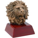 Lion Resin Resin Trophy Awards