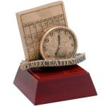 Perfect Attendance Resin Resin Trophy Awards