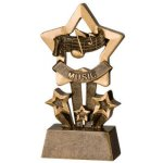 Music Star Resin Resin Trophy Awards