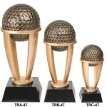 Golf Tower Resin Resin Trophy Awards