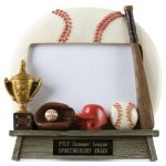 Photo Frame Baseball Resin Trophy Awards