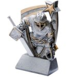 3D Resin Hockey Goalie Resin Trophy Awards