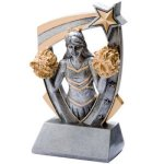 3D Resin Cheer Resin Trophy Awards