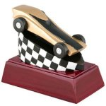 Pinewood Derby Resin Resin Trophy Awards