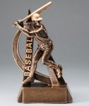 Baseball Ultra Action Sports Resin Trophy Resins and Trophies