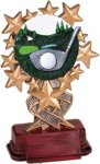Golf - Starburst Resin Trophy RESINS