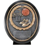 Basketball Resin Oval Resins & Trophies