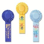 Fun Rosette Award Ribbon Rosette Award Ribbons