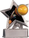 Softball - Silver Star Motion Series Resin Softball Awards