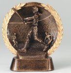 Resin Plate Softball Mini Softball Awards