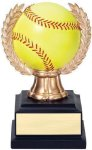 Wreath Sport Ball Softball Softball Awards