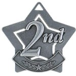 2nd Place  Silver Star Medal Awards