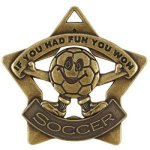Soccer Fun  Star Medal Awards