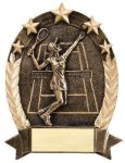 5 Star Oval Tennis Tennis Awards