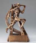 Female Track Ultra Action Sports Resin Trophy Track Awards