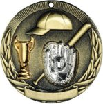 Baseball Tri-Colored Medal Awards