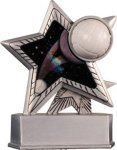 Volleyball - Silver Star Motion Series Resin Volleyball Awards