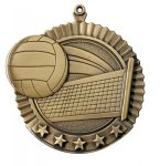 Star Volleyball Medals Volleyball Awards
