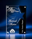 Star Cutout Clear and Black Acrylic Award Welcome to the Jayhawk Trophy Online Store!