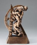 Wrestling Ultra Action Sports Resin Trophy Wrestling Awards